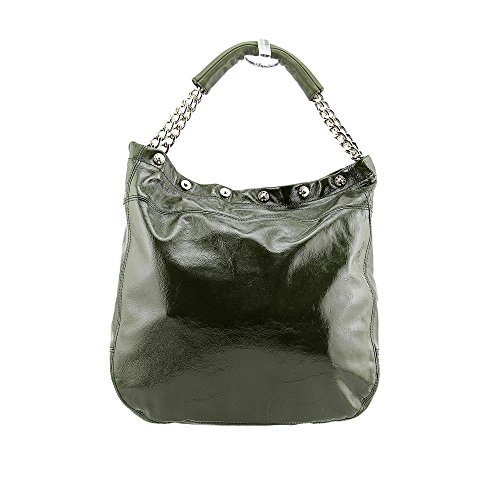 Furla B BZ30 X7 Book Women Patent Leather Tote