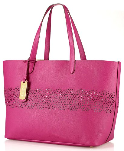 Ralph Lauren Chantilly Classic Tote in Hibiscus
