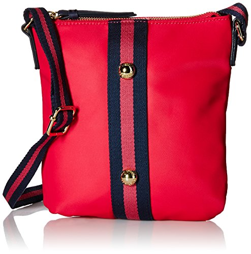 Tommy Hilfiger Jill Nylon Crossbody Bag, Pink, One Size