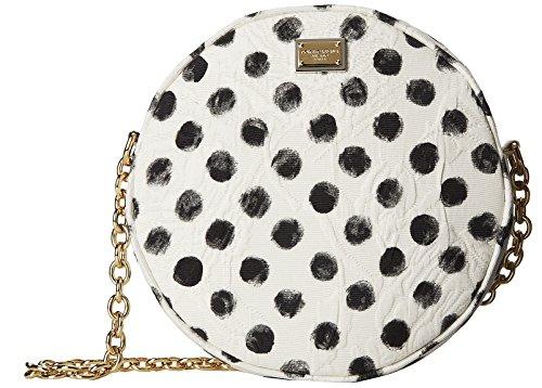 Dolce & Gabbana Tracolla Broccato Stam Circle Brocade Jacquard Crossbody