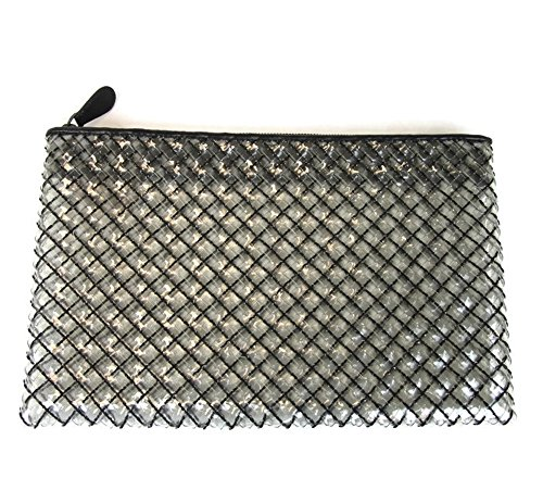 Bottega Veneta Transparent Lg Woven Clutch Pouch Bag 292576 1189