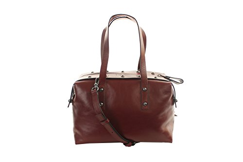 Marc By Marc Jacobs Connected Stachel Women Burgundy Satchel