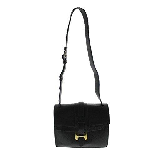 Halston Heritage Womens Leather Double Slip Shoulder Handbag