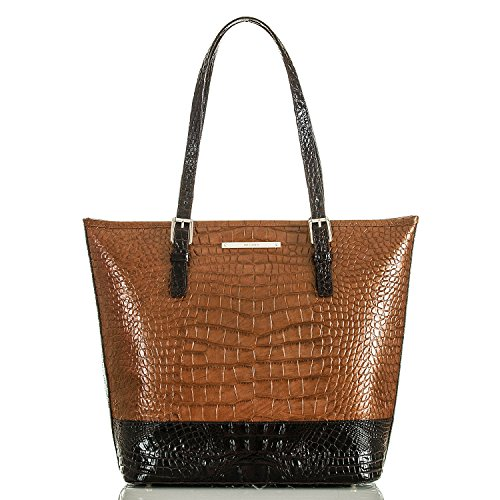 NEW AUTHENTIC BRAHMIN ASHER SHOULDER TOTE (Sienna)