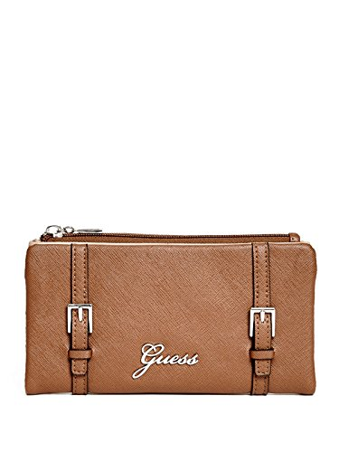 GUESS Women's Lakeview Saffiano Soft Wallet
