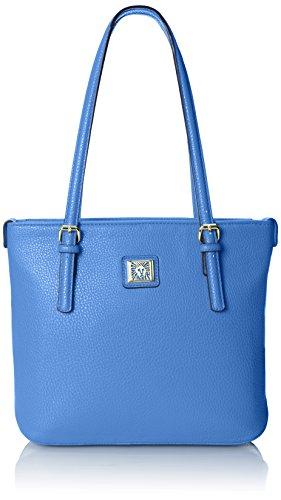 Anne Klein Perfect Tote Small Shopper, Azul, One Size