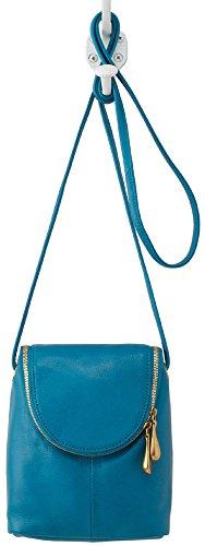 Hobo Supersoft Leather Fern Crossbody Bag – Ocean