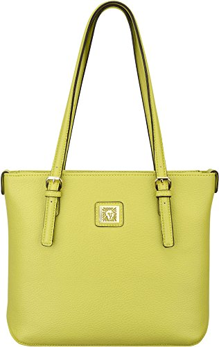 Anne Klein Perfect Tote Shopper Handbag One Size Green