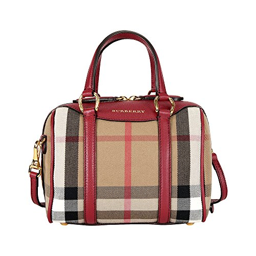 Burberry Small Alchester Bowling Bag – Russet Red