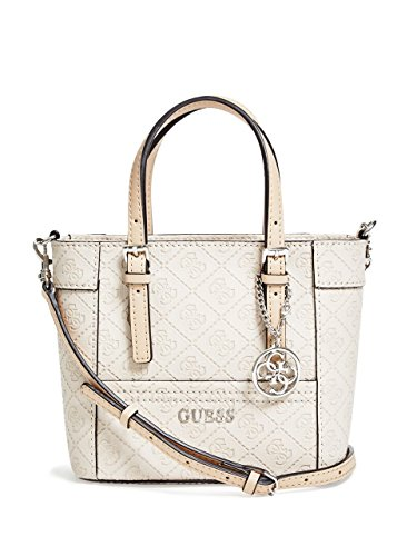 GUESS Delaney Logo-Embossed Mini Tote
