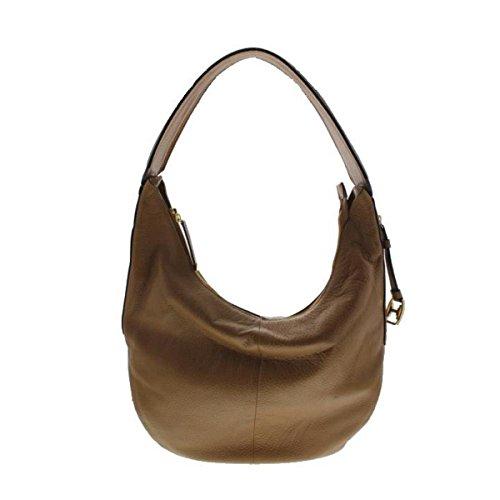 Halston Heritage Womens Leather Slouchy Hobo Handbag