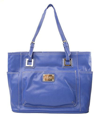 Nine West Reno Signs Version 2, Heritage Large Tote, Color Cobalt