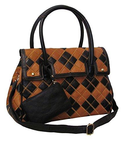 Amerileather Bennette Leather Handbag (#1790-2)