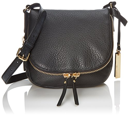 Vince Camuto Baily Cross Body Bag, Black/Black Lizard, One Size
