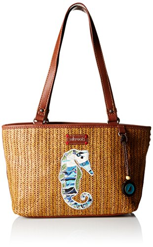 Sakroots Artist Circle Straw Small Satchel Bag