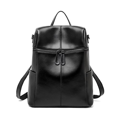 Leyan Women's Will Leather Stylish Multi-purpose Backpack Purses Cross Body Shoulder Bag School Bags