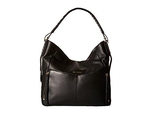 Cole Haan Felicity Leather Hobo Shoulder Handbag, Black