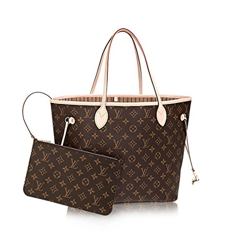 Louis Vuitton Monogram Canvas Beige Neverfull MM M40995