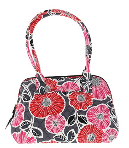Vera Bradley Zip-Around Handbag Purse in Cheery Blossoms