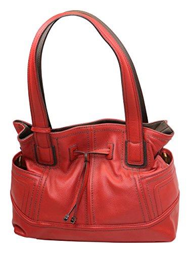Tignanello Super Stitch Shoulder Bag