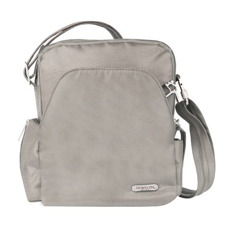 Travelon Unisex Anti Theft Travel Bag, Beige