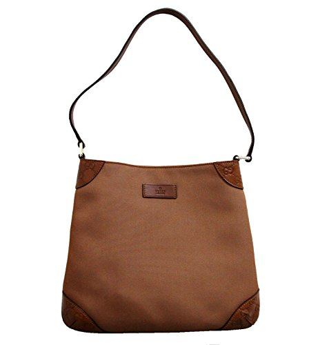 Gucci Brown Hobo Shoulder Bag Guccissima Leather Bag 248272 8567