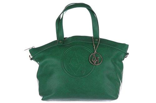 Armani Jeans women's handbag shopping bag purse green