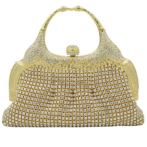 ILILAC Ladie's Clutches Handbag Retro Styling Evening Bags for Parties and Formal Event