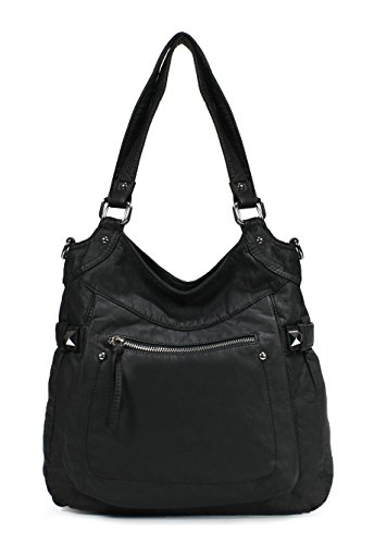 Scarleton Soft Washed Stylish Shoulder Bag H1781