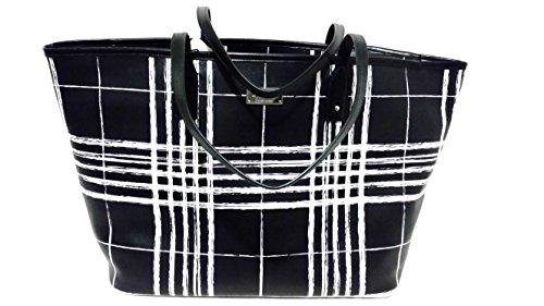 Ralph Lauren Handbag Swanfield Classic Tote Black and White