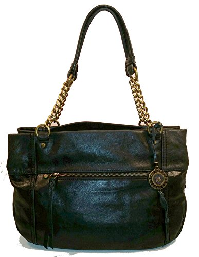 The Sak Primrose Bag Black Leather Satchel