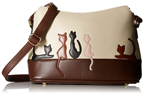 BG® Women Cute Cat Leatherette Crossbody Bags