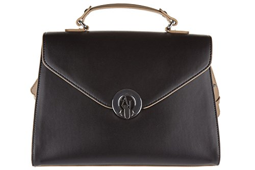 Armani Jeans women's handbag shopping bag purse black