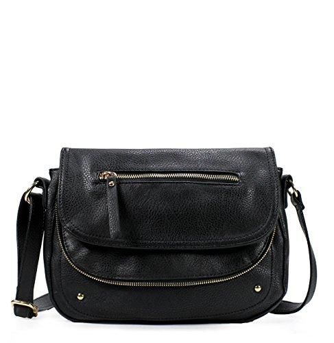 Scarleton Trendy Dual Pocket Crossbody Bag H1868