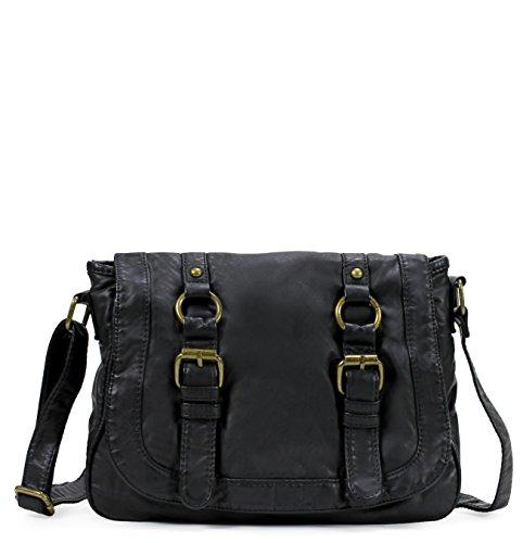 Scarleton Soft Washed Bangle Accent Crossbody Bag H1819