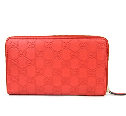 Gucci Unisex Guccissima Leather Wallet Zip Around Travel Clutch 321117