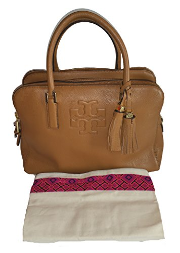 Tory Burch Thea Triple Zip Compartment Leather Bag
