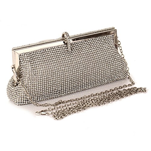 Celestte(TM) Evening Handbags, Luxury Noble Women's Handbags with CZ Diamond