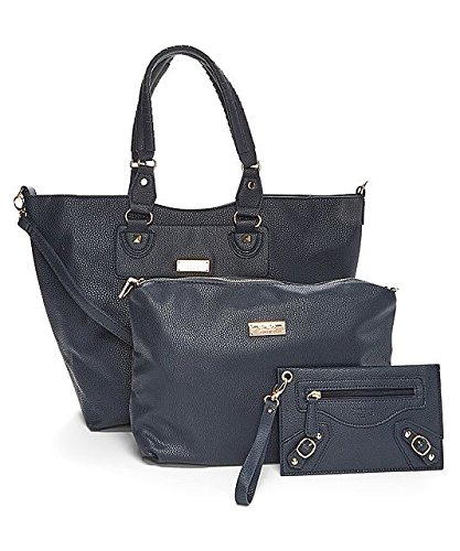 Bcbg Paris 3 Piece Bag Womens New Collection navy