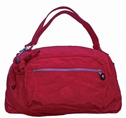 Kipling Jessa Tango Red Color 633 Handbag Shoulder Cross Body Bag