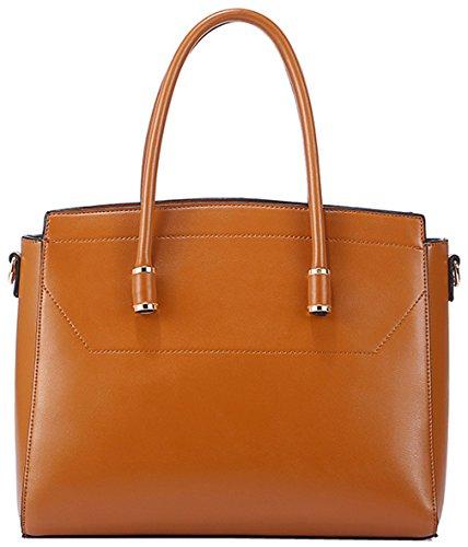 Heshe® New Fashion Leather Shell Style Tote Top Handle Hobo Shoulder Bag Cross Body Purse Satchel Handbag Messenger Bag For Women