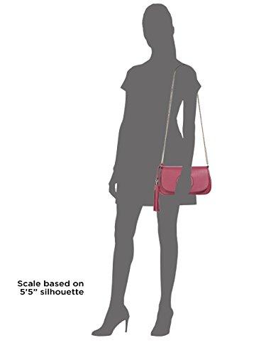 Gucci Soho Small Shoulder Bag Bright Bouganvillia Leather Hot Pink Bag