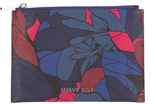 Armani Jeans women's clutch handbag bag purse newblu
