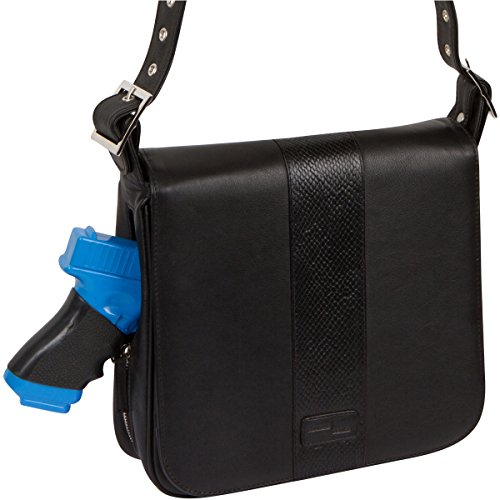 Access Denied RFID Blocking Concealed Carry Purse Leather