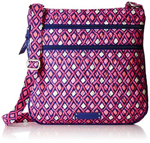 Vera Bradley Triple Zip Hipster 3 Cross Body Bag