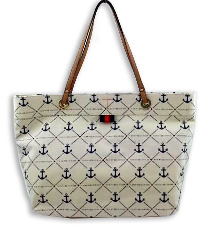 Tommy Hilfiger Nautical Tote Large in Canvas