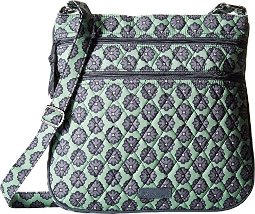 Vera Bradley Women's Triple Zip Hipster Nomadic Blossoms Cross Body