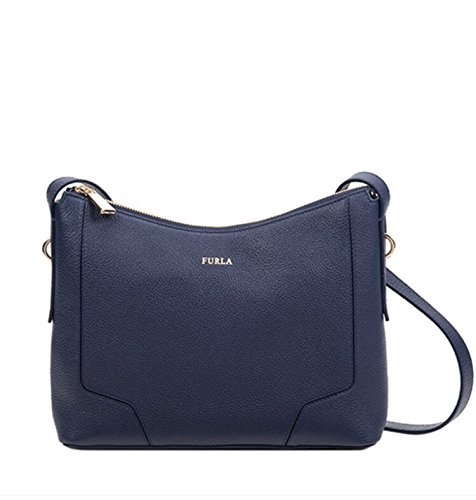 Furla Perla Crossbody Handbag Navy