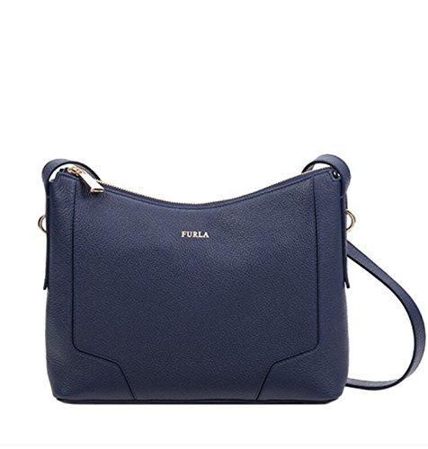 Furla Perla Crossbody Handbag Navy