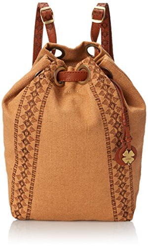 Lucky Brand Grenada Washed Linen Drawstring Backpack